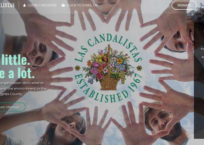Las Candalistas Website Redesign